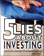 """Cover of Book """"5 Lies About Investing"""""""