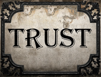 trust reduced for post
